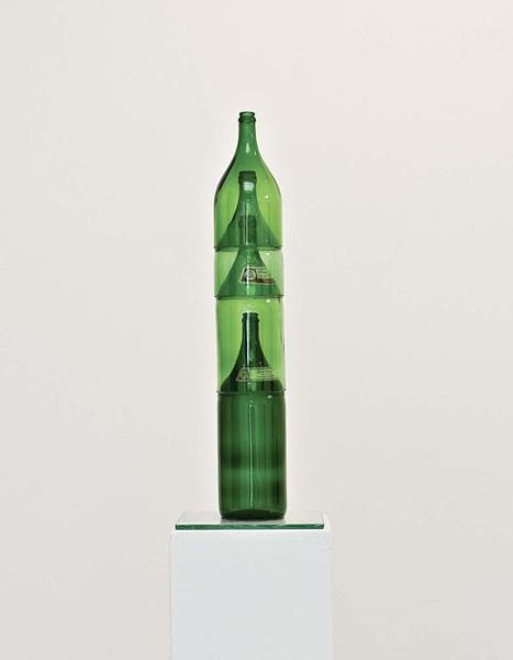 Doppler, Vol 12, glass, silicon, paper, 2007